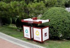 广告垃圾箱/旧衣回收箱-广告垃圾箱/旧衣回收箱DS-LG-14
