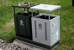 广告垃圾箱/旧衣回收箱-广告垃圾箱/旧衣回收箱DS-LG-8