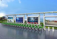 公共自行车棚/停车棚-公共自行车棚DS-ZX-12