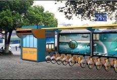 公共自行车棚/停车棚-公共自行车棚DS-ZX-5