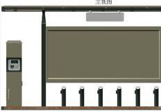 公共自行车棚/停车棚-公共自行车棚DS-ZX-6