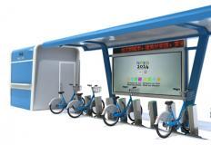 公共自行车棚/停车棚-公共自行车棚DS-ZX-9