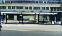 客户案例-南平候车亭安装现场