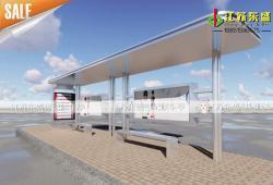 不锈钢候车亭-不锈钢候车亭DS-H-004