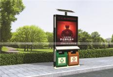 太阳能广告垃圾箱-太阳能广告垃圾箱GX-003