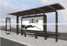 公交候车亭/公交站台-现代候车亭XH-032