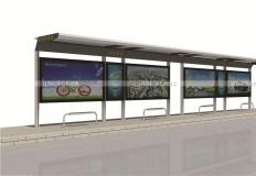公交候车亭/公交站台-现代候车亭XH-037