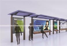 公交候车亭/公交站台-现代候车亭XH-038