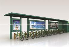 公共自行车棚/停车棚-公共自行车亭GT-001